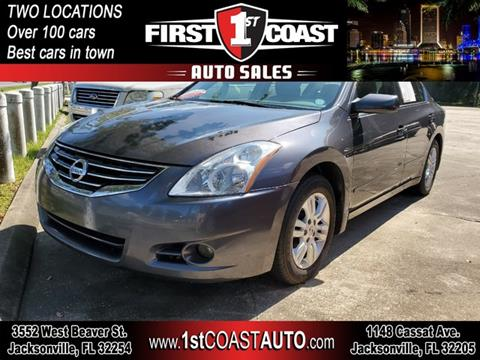 2012 Nissan Altima for sale at 1st Coast Auto -Cassat Avenue in Jacksonville FL