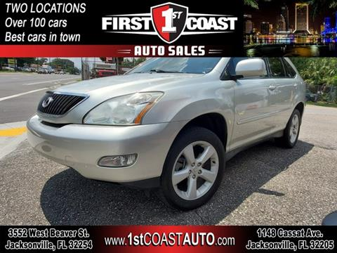 2005 Lexus RX 330 for sale at 1st Coast Auto -Cassat Avenue in Jacksonville FL