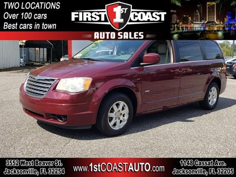 2008 Chrysler Town and Country for sale at 1st Coast Auto -Cassat Avenue in Jacksonville FL