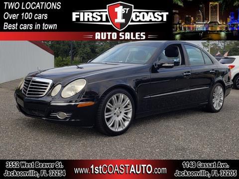 2007 Mercedes-Benz E-Class for sale at 1st Coast Auto -Cassat Avenue in Jacksonville FL