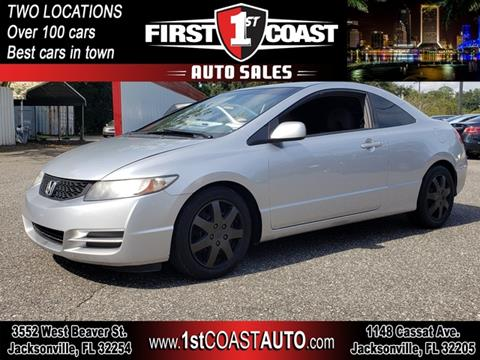 2010 Honda Civic for sale at 1st Coast Auto -Cassat Avenue in Jacksonville FL