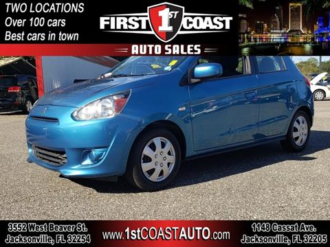 2015 Mitsubishi Mirage for sale at 1st Coast Auto -Cassat Avenue in Jacksonville FL