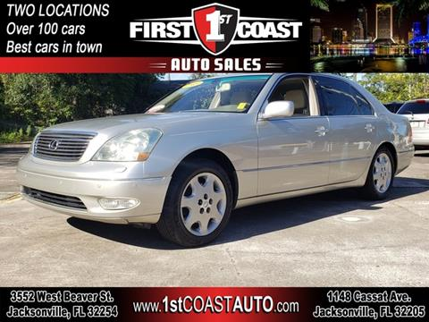 2003 Lexus LS 430 for sale at 1st Coast Auto -Cassat Avenue in Jacksonville FL