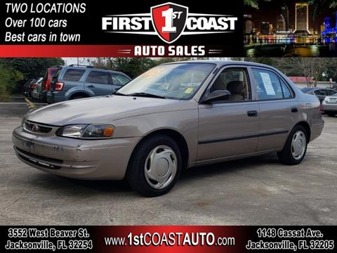 1999 Toyota Corolla for sale at 1st Coast Auto -Cassat Avenue in Jacksonville FL