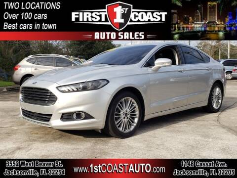 2014 Ford Fusion for sale at 1st Coast Auto -Cassat Avenue in Jacksonville FL