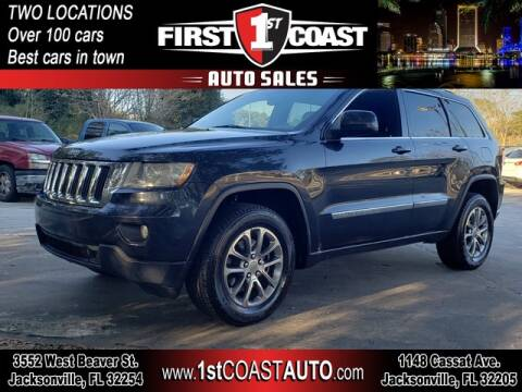 2012 Jeep Grand Cherokee for sale at 1st Coast Auto -Cassat Avenue in Jacksonville FL