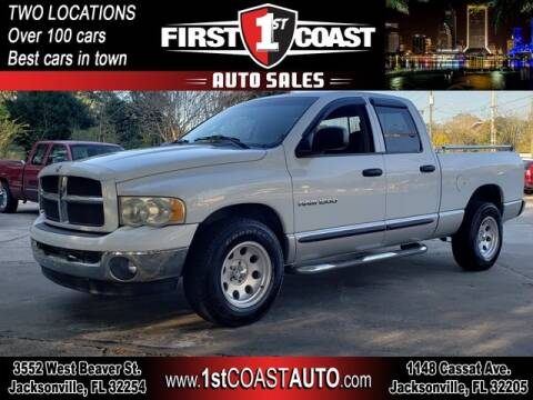 2003 Dodge Ram Pickup 1500 for sale at 1st Coast Auto -Cassat Avenue in Jacksonville FL