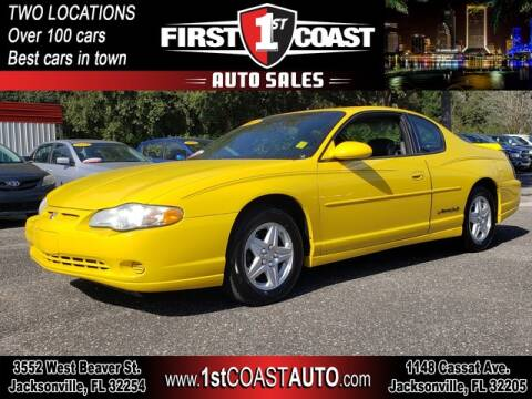 2002 Chevrolet Monte Carlo for sale at 1st Coast Auto -Cassat Avenue in Jacksonville FL