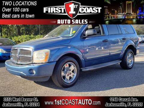 2006 Dodge Durango for sale at 1st Coast Auto -Cassat Avenue in Jacksonville FL