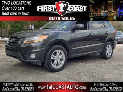 2010 Hyundai Santa Fe for sale at 1st Coast Auto -Cassat Avenue in Jacksonville FL