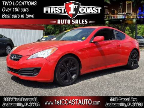 2012 Hyundai Genesis Coupe for sale at 1st Coast Auto -Cassat Avenue in Jacksonville FL