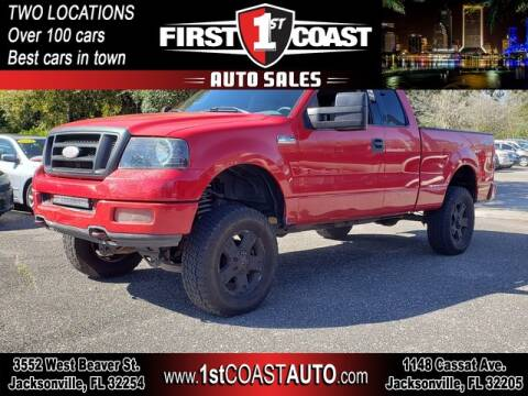 2004 Ford F-150 for sale at 1st Coast Auto -Cassat Avenue in Jacksonville FL