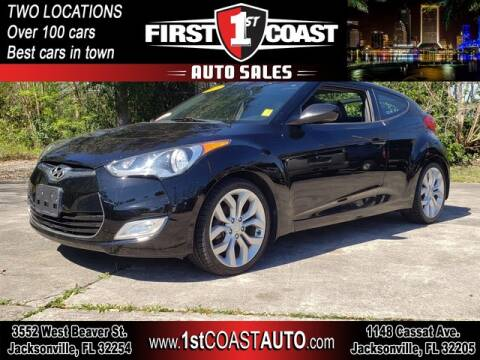 2013 Hyundai Veloster for sale at 1st Coast Auto -Cassat Avenue in Jacksonville FL
