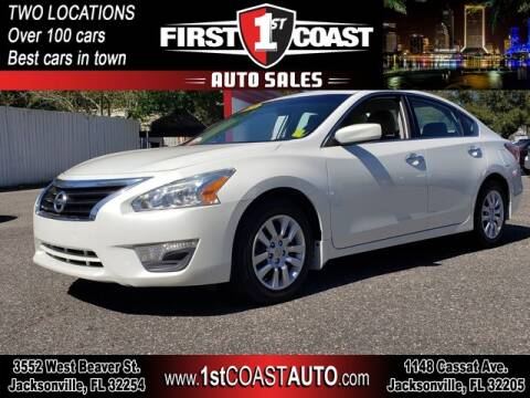 2015 Nissan Altima for sale at 1st Coast Auto -Cassat Avenue in Jacksonville FL