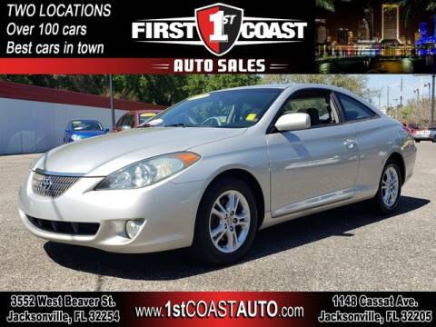 2005 Toyota Camry Solara for sale at 1st Coast Auto -Cassat Avenue in Jacksonville FL