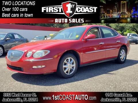 2008 Buick LaCrosse for sale at 1st Coast Auto -Cassat Avenue in Jacksonville FL