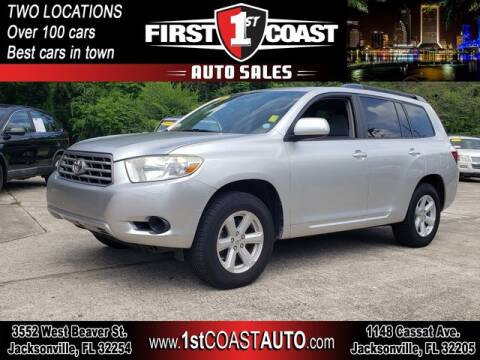 2010 Toyota Highlander for sale at 1st Coast Auto -Cassat Avenue in Jacksonville FL