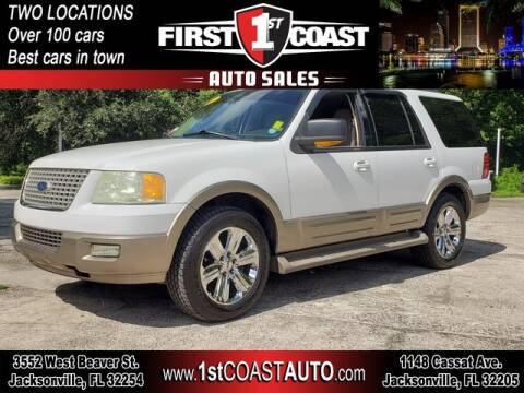 2004 Ford Expedition for sale at 1st Coast Auto -Cassat Avenue in Jacksonville FL