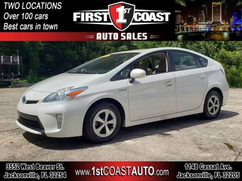 2014 Toyota Prius for sale at 1st Coast Auto -Cassat Avenue in Jacksonville FL