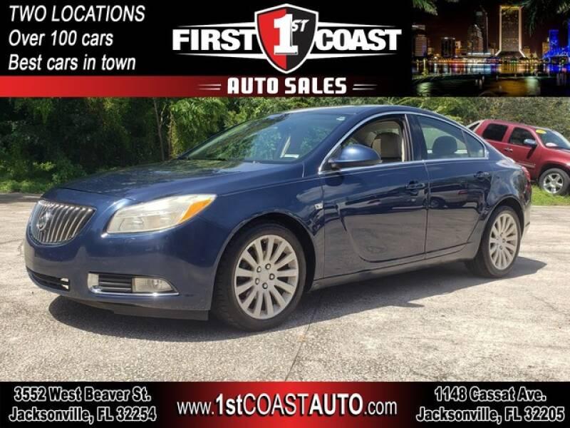 2011 Buick Regal for sale at 1st Coast Auto -Cassat Avenue in Jacksonville FL