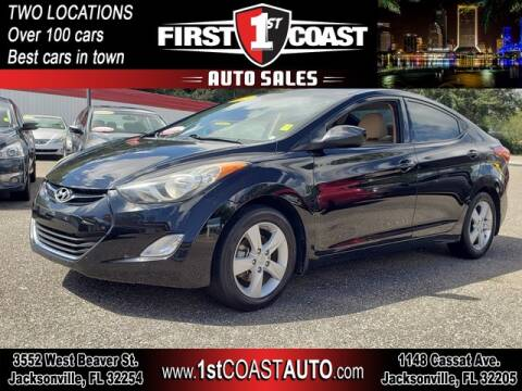 2013 Hyundai Elantra for sale at 1st Coast Auto -Cassat Avenue in Jacksonville FL