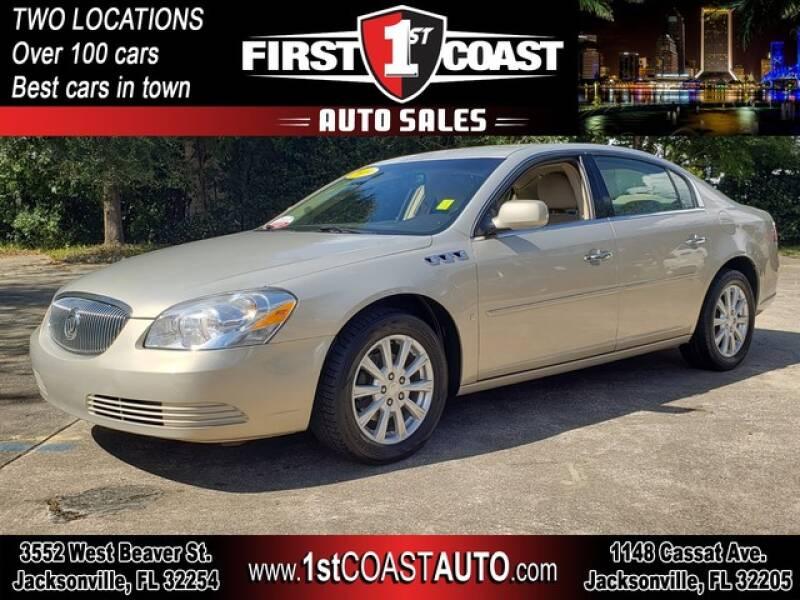 2009 Buick Lucerne for sale at 1st Coast Auto -Cassat Avenue in Jacksonville FL