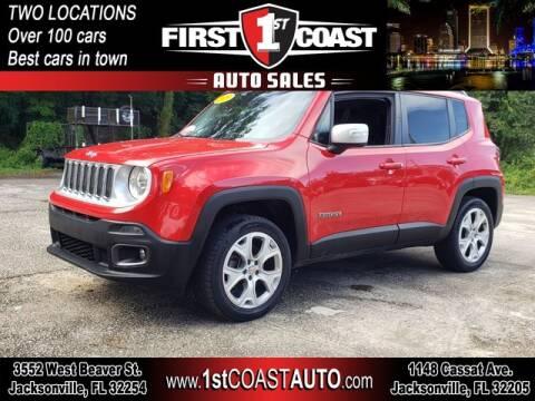 2015 Jeep Renegade for sale at 1st Coast Auto -Cassat Avenue in Jacksonville FL