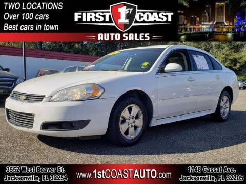 2011 Chevrolet Impala for sale at 1st Coast Auto -Cassat Avenue in Jacksonville FL