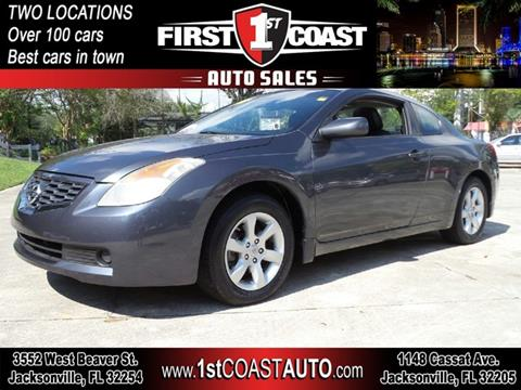 Used 2008 Nissan Altima For Sale In Jacksonville Fl
