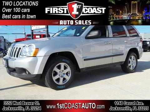 2008 Jeep Grand Cherokee for sale at 1st Coast Auto -Cassat Avenue in Jacksonville FL