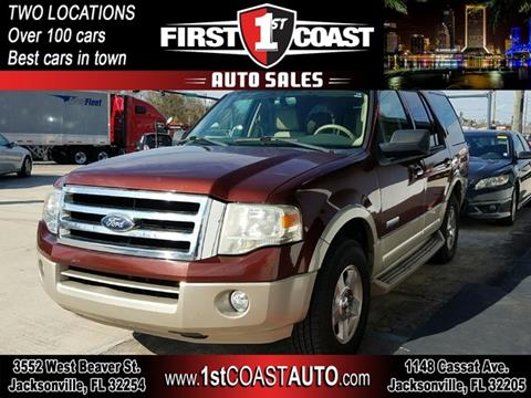 2008 Ford Expedition for sale at 1st Coast Auto -Cassat Avenue in Jacksonville FL
