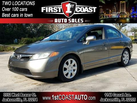 2006 Honda Civic For Sale In Jacksonville Fl