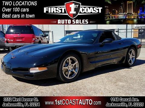 Chevrolet Corvette For Sale In Jacksonville FL Carsforsalecom - Sports cars jacksonville fl