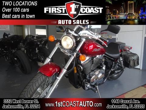 2007 Honda Shadow Spirit for sale at 1st Coast Auto -Cassat Avenue in Jacksonville FL