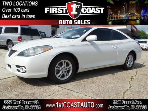 2008 Toyota Camry Solara for sale at 1st Coast Auto -Cassat Avenue in Jacksonville FL