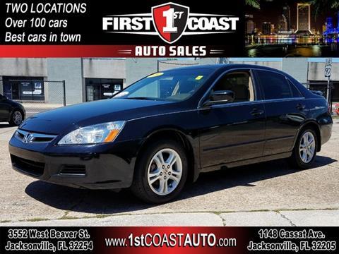 2007 Honda Accord for sale at 1st Coast Auto -Cassat Avenue in Jacksonville FL