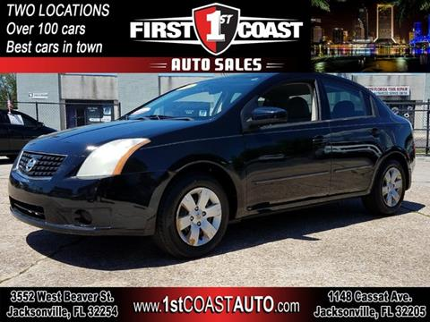 2008 Nissan Sentra for sale at 1st Coast Auto -Cassat Avenue in Jacksonville FL