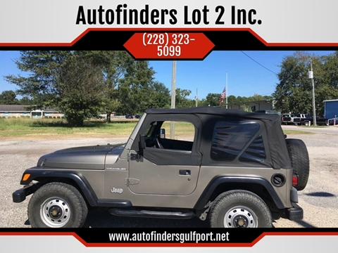 2002 Jeep Wrangler for sale in Gulfport, MS