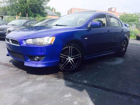 2008 Mitsubishi Lancer for sale at Deluxe Auto Sales Inc in Ludlow MA