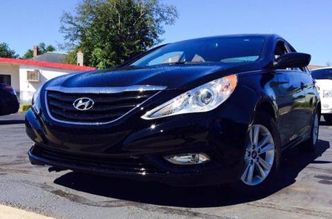 2013 Hyundai Sonata for sale at Deluxe Auto Sales Inc in Ludlow MA