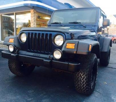 2004 Jeep Wrangler for sale at Deluxe Auto Sales Inc in Ludlow MA