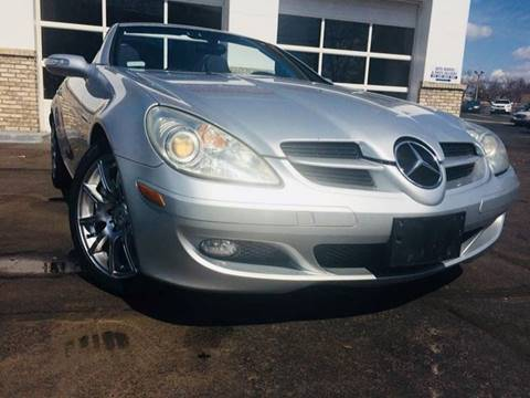 2005 Mercedes-Benz SLK for sale at Deluxe Auto Sales Inc in Ludlow MA