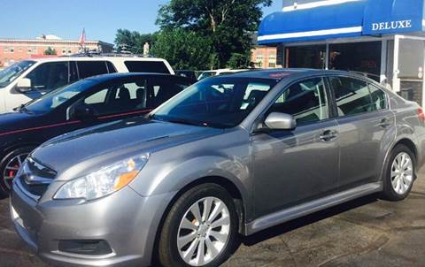 2011 Subaru Legacy for sale at Deluxe Auto Sales Inc in Ludlow MA