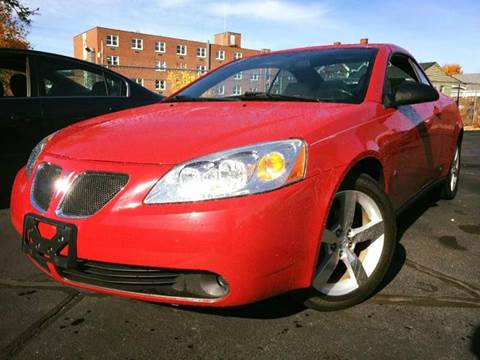 2007 Pontiac G6 for sale at Deluxe Auto Sales Inc in Ludlow MA