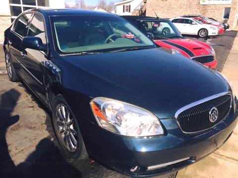 2007 Buick Lucerne for sale at Deluxe Auto Sales Inc in Ludlow MA