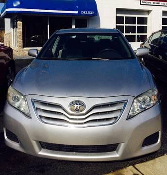2010 Toyota Camry for sale at Deluxe Auto Sales Inc in Ludlow MA