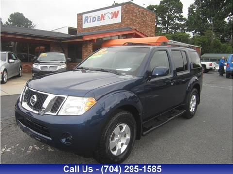 2009 Nissan Pathfinder for sale in Charlotte, NC