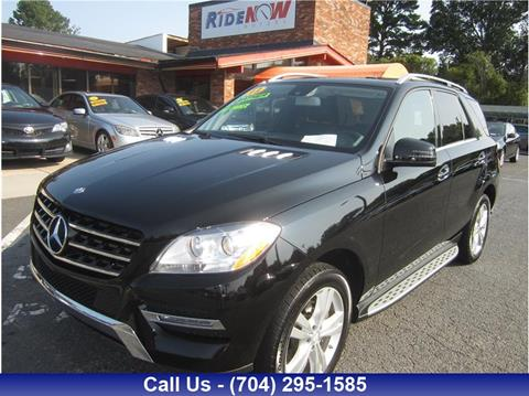 2013 Mercedes-Benz M-Class for sale in Charlotte, NC