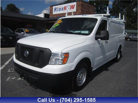 2014 Nissan NV Cargo for sale in Charlotte, NC