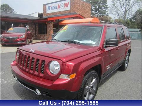 Jeep patriot for sale in north carolina for Ride now motors in monroe north carolina